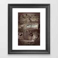 Ford.....abandoned Framed Art Print
