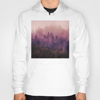 purple Hoodies featuring The Heart Of My Heart by Tordis Kayma