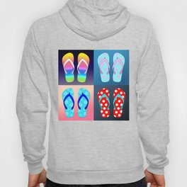 Flip Flop Pop Art Hoody