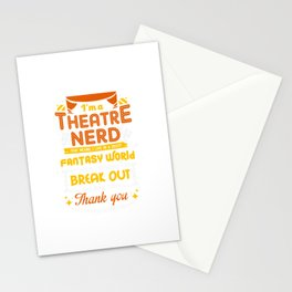 I'm A Theatre Nerd - Funny Theatre Stationery Cards