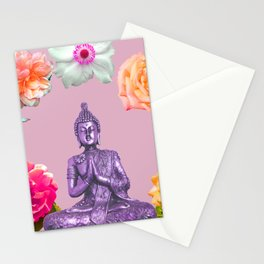 Lavender Buddha Stationery Cards