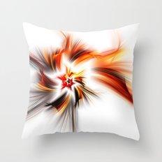 Devil's Star Throw Pillow
