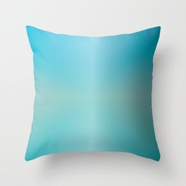 Soft Coastal Vibe Throw Pillow