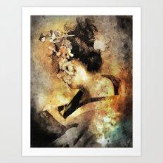 The Last Geisha Art Print