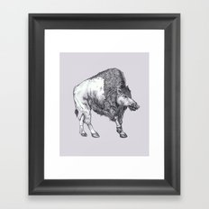 The Catoblepas Framed Art Print