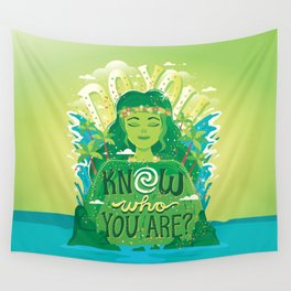Know who you are Wall Tapestry