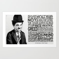 The Mute Dictator Art Print