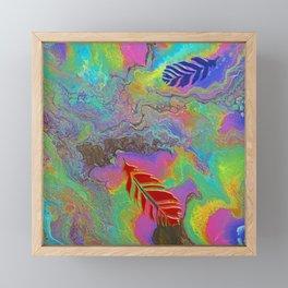 Floating to Earth Framed Mini Art Print