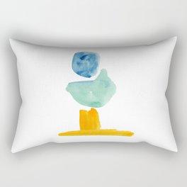 Abstract Figure Rectangular Pillow