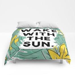 wake the sun Comforters