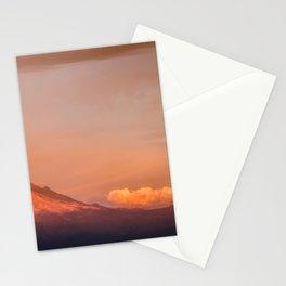Popocatepetl is awakening Stationery Cards