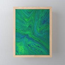 POUR ART 4 Framed Mini Art Print