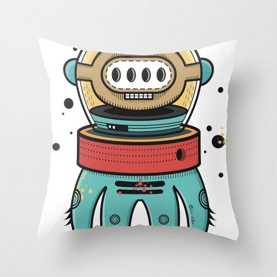 D-Nat boy Throw Pillow