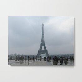 Eiffel Tower. Metal Print