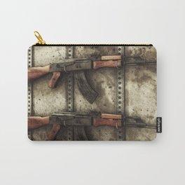 AK-47 Gun Rack Art Carry-All Pouch