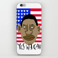 YES WE CAN iPhone & iPod Skin