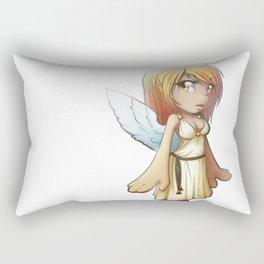 little angel Rectangular Pillow