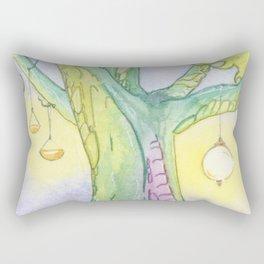 Evening Tree Sprites Rectangular Pillow