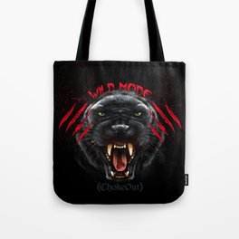 Wild Mode. Bjj, Mma, grappling Tote Bag