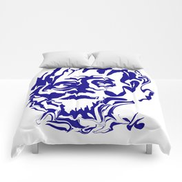 face5 blue Comforters
