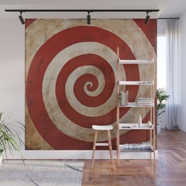 Sideshow Carnival Spiral Wall Mural