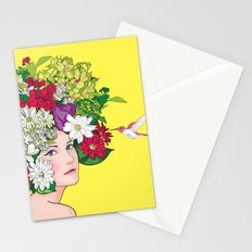 Scent of a woman Stationery Cards