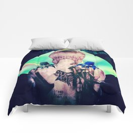 ghost in the shell tribute: 25th anniversary  Comforters