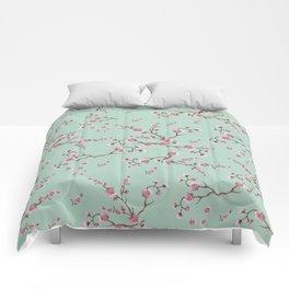 SAKURA  - PRETTY MINT Comforters