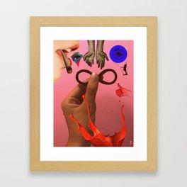 48 Framed Art Print