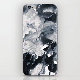 inkblot marble 8 iPhone Skin
