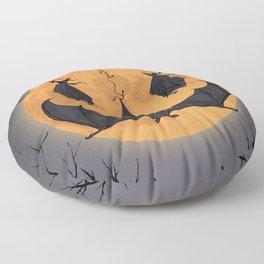Halloween Moon Floor Pillow