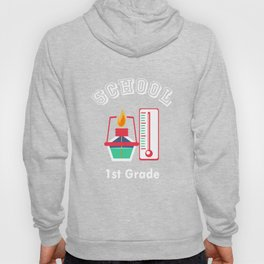 1st First Grade Laboratory Assistant Back to School print Hoody