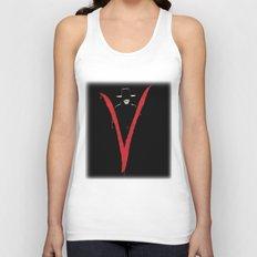 V for Vendetta (e6) Unisex Tank Top