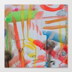 Spontaneous moods Canvas Print