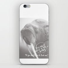 rock&roll iPhone & iPod Skin