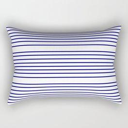 Mariniere marinière – classical pattern 2 Rectangular Pillow