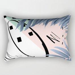 Summer Palms Cali Vibes Abstract Glam #1 #tropical #decor #art #society6 Rectangular Pillow