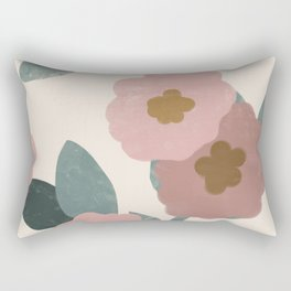 Simple Flowers Rectangular Pillow