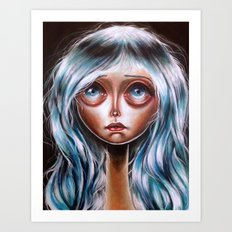 Wisp :: Pretty Little Scamp Pop Surrealism Art Print