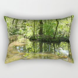 South Carolina Wetlands Rectangular Pillow