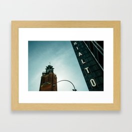 Rialto day Framed Art Print