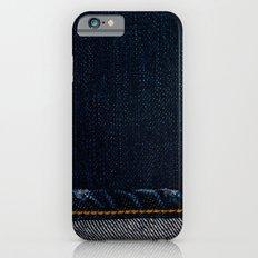 jeans*Trompe l'oeil iPhone 6 Slim Case