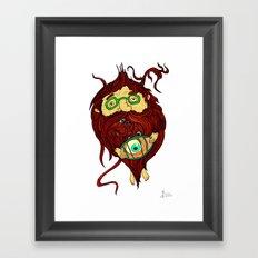 Ginger Toy Framed Art Print