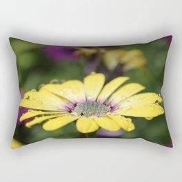 Osteospermum Daisy Yellow Rectangular Pillow