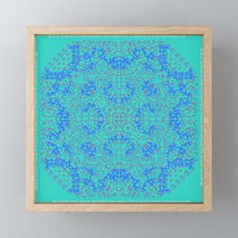 "CA Fantasy ""For Tiffany color"" series #10 Framed Mini Art Print"