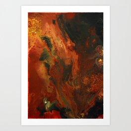 Red Sands Art Print