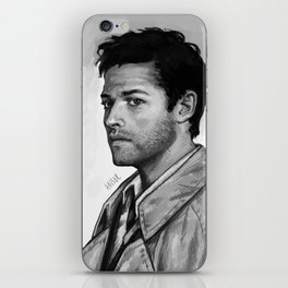 Trench coat iPhone Skin
