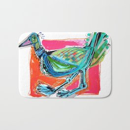 Bird on the Run Bath Mat