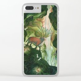 He Is Life Itself Clear iPhone Case