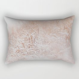 Snow Day in the Meadow Rectangular Pillow